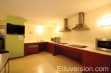 Student residence kitchen
