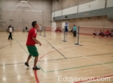 York University: badminton